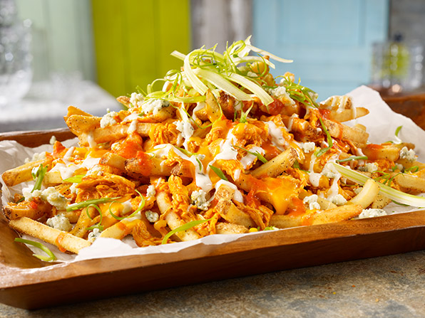 "Loaded Buffalo Chicken Fries <div class=""new-product"" alt=""New Product""></div>"