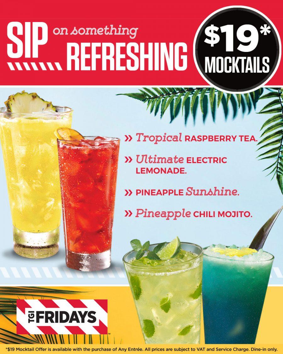 $19 Mocktails